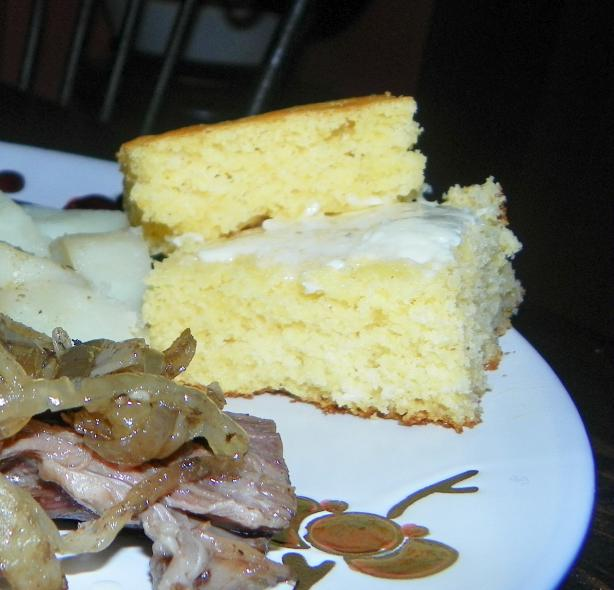Fluffy Cornbread