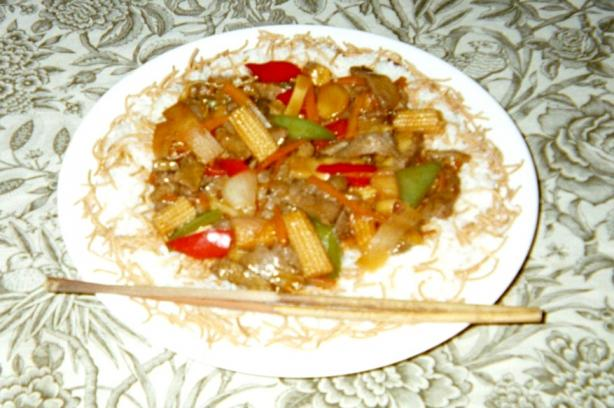 Mama D's Sweet Dragon's Breath Stir Fry