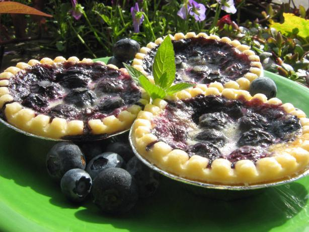 Blueberry Butter Tarts