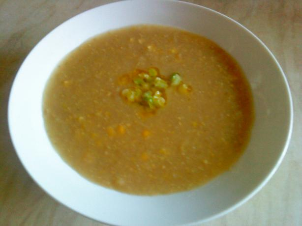 Wicklewood Wench's Potato and Sweetcorn Soup