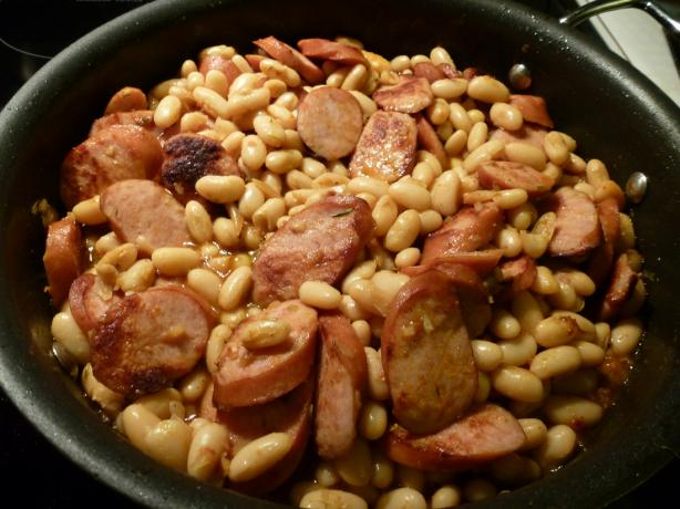 Kielbasa Cassoulet (W/Beans) - One-Pot Dish