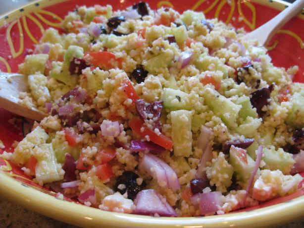 Kittencal's Greek Couscous
