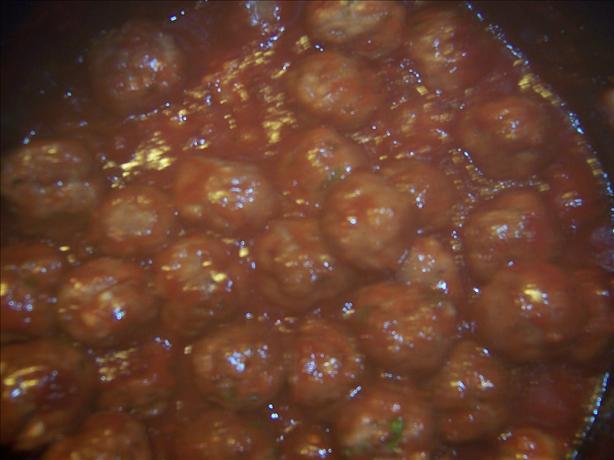 Mini-Meatballs in Cranberry Sauce