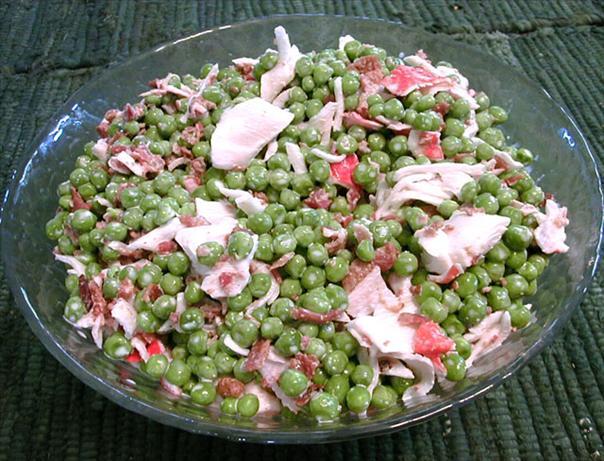 Crab & Pea Salad