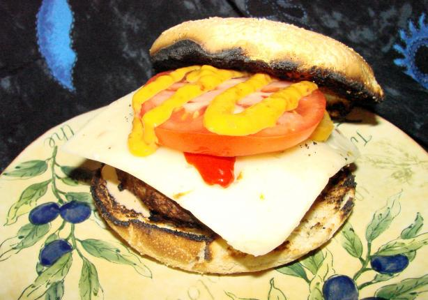 All-American Loaded Burgers