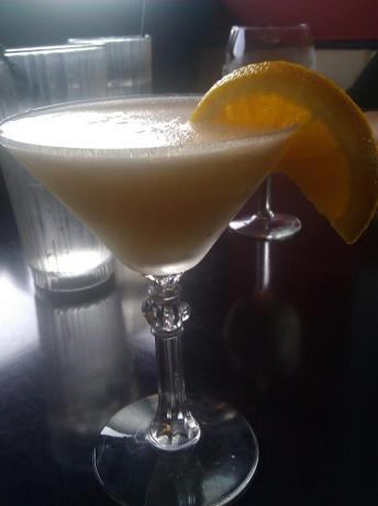 Orange Dreamsicle Martini