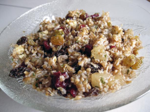 Fruity Bulgur Wheat