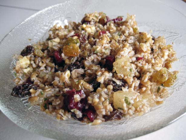 Fruity Bulgur Wheat