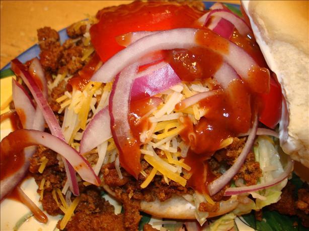 Texas Taco Burgers