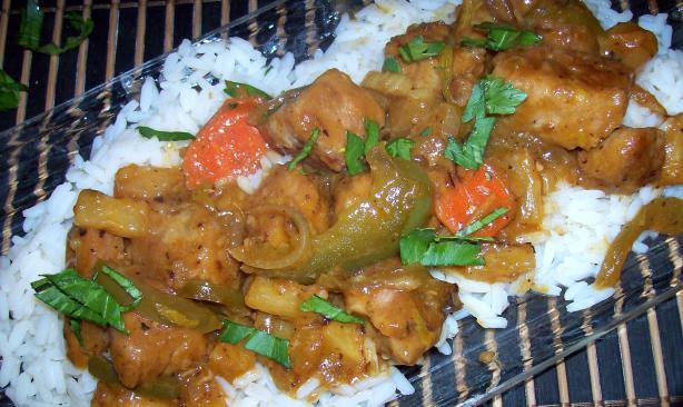 Polynesian Pork and Rice