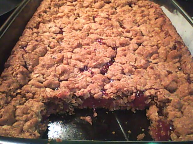 Julie's Rhubarb Bars or Crisp