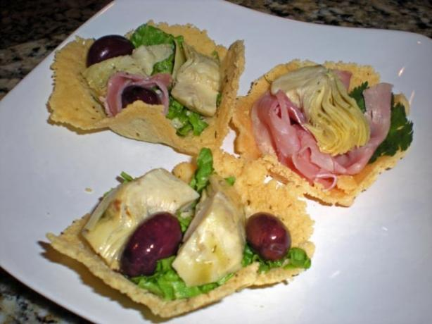 Parmesan Cheese Baskets