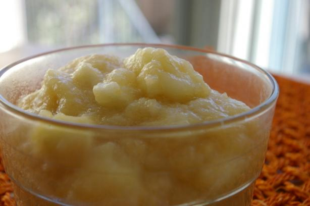 Perfect, Easy Applesauce