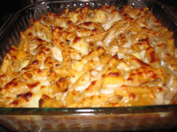 shrimp & scallop ziti