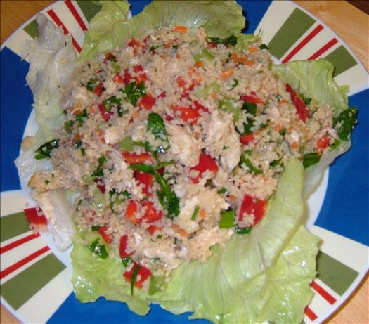 Couscous Chicken Salad