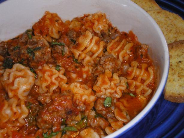 Mimi's Lasagne Chili Soup