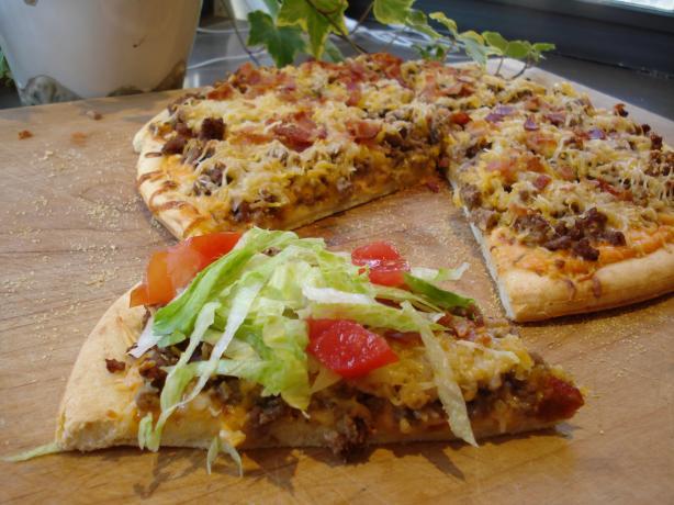 'big Mac' Pizza