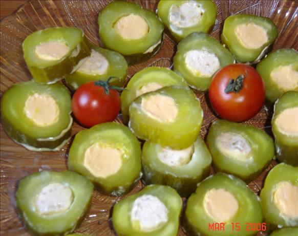Stuffed Dill Pickles