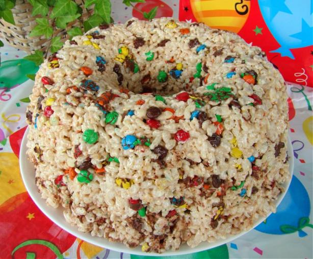 Rice Krispies Bundt Cake