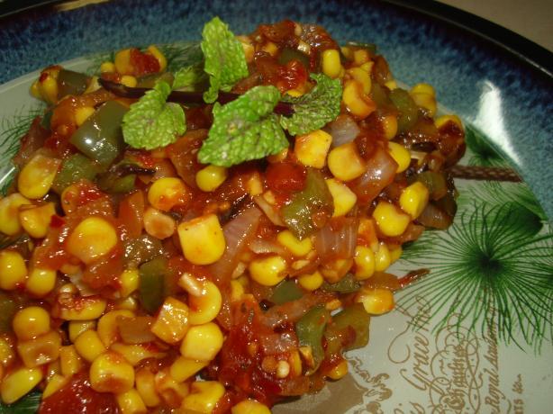Maque Choux (Cajun Corn Sautee)