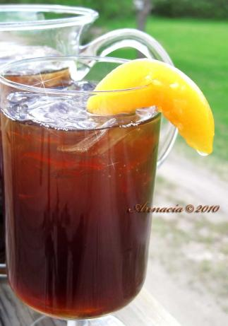 Amber's Down Home Peach Iced Tea
