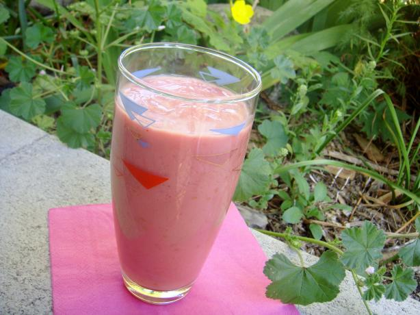 Good Morning Strawberry-Banana Smoothie