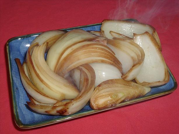 Vidalia Onions in Soy