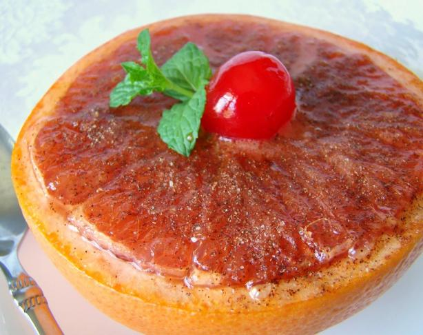 Sweet Broiled Grapefruit