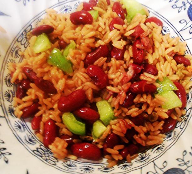 Haitian Diri Ak Pwa (Rice and Beans)