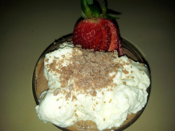 Easiest Ever Chocolate Mousse With Lemon Cream