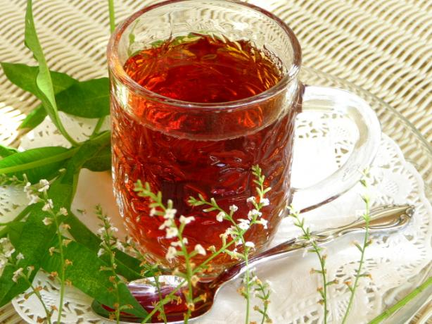 Cassis (Blackcurrant) and Lemon Verbena Tea - Tisane - Infusion
