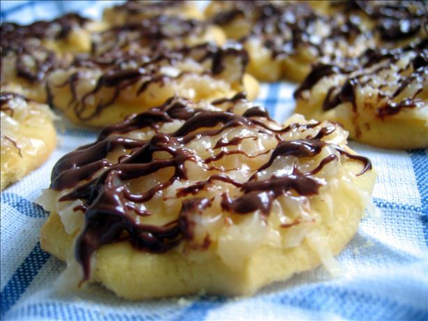 Girl Scout Samoa Cookies (Copycat)