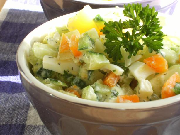 Russian Style Salad(Salat Olivier)