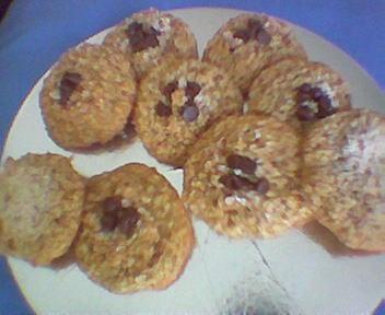 Ginger Oatmeal Crisps