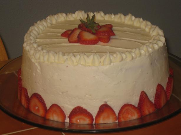 Mary or Francis's Strawberry Party Cake