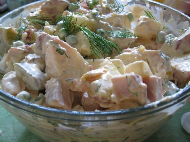 Russian Potato Salad (Salad Olivier)