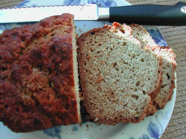 Light Wheat Beer Bread