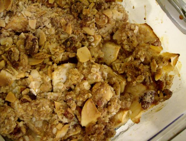 Apple Crunch Crumble