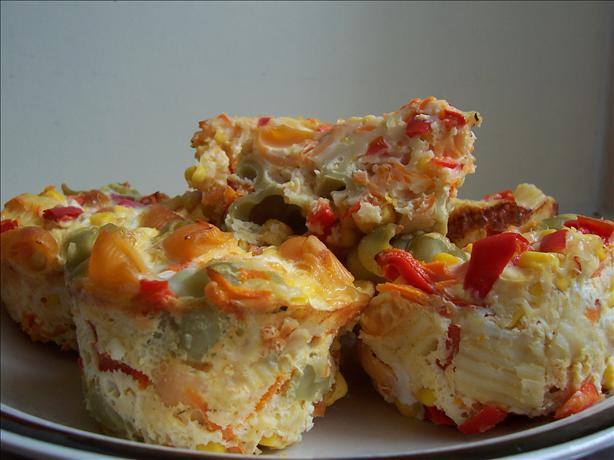 Pasta and Vegetable Frittatas