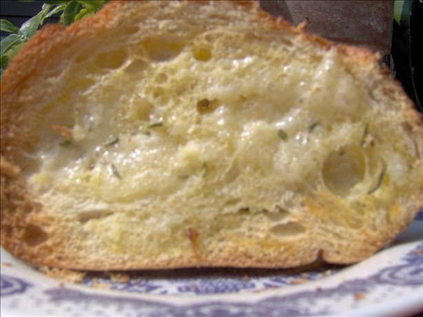 Rosemary Parmesan French Bread