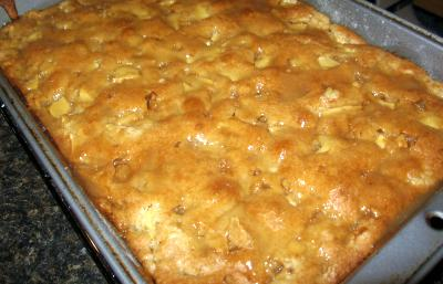 Cake Mix Apple Pie Cake