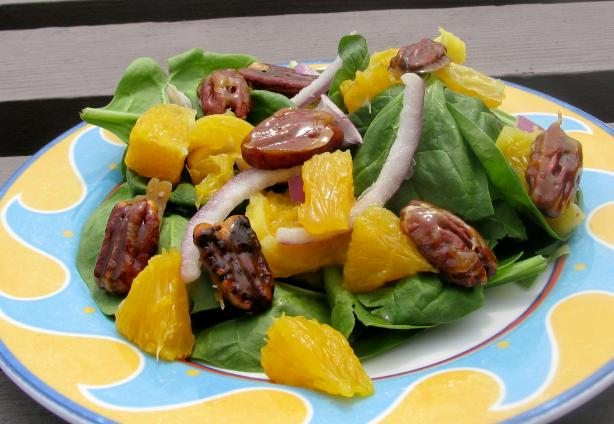 Winter Orange Salad With Pecan Croutons