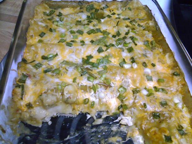 Addictive Green Enchiladas