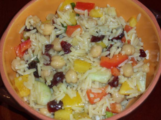 Cranberry Orzo Salad