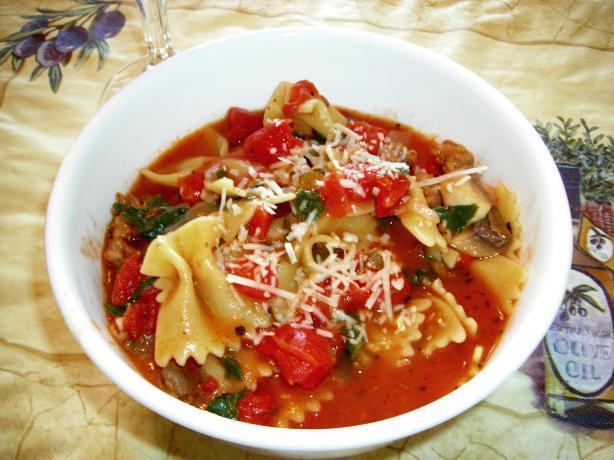 Donna Lasagna Soup