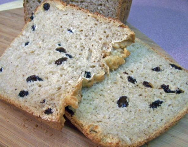 Apple Cider Spiced Raisin Bread