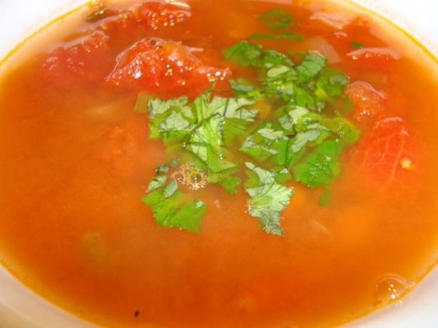 Easy Tomato Bean Soup