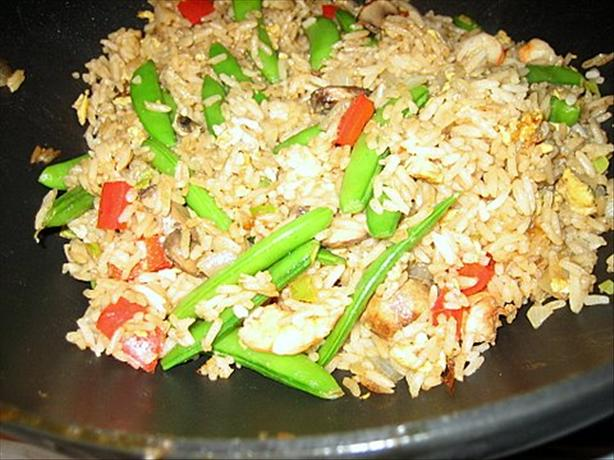 Shrimp and Egg Fried Rice