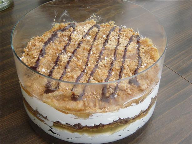 Peanutty Apple Trifle Dessert
