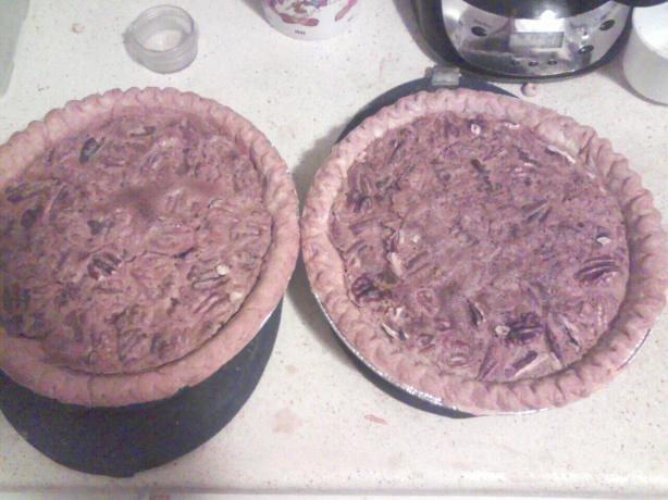 Mocha Pecan Pie